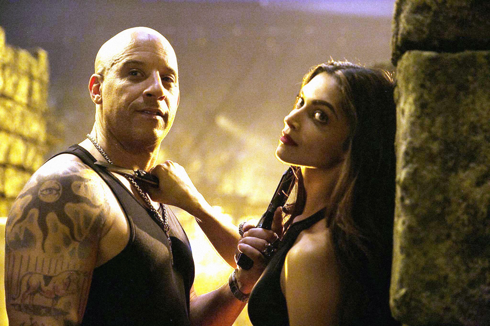 Vin Diesel Leg Tattoo Triple X
