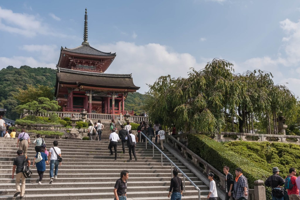 The West Gate of Kiyomizudera