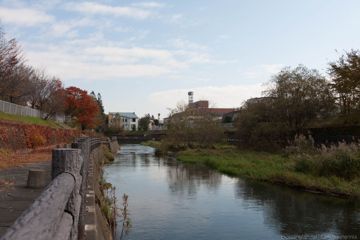 Autumn at Obihiro River