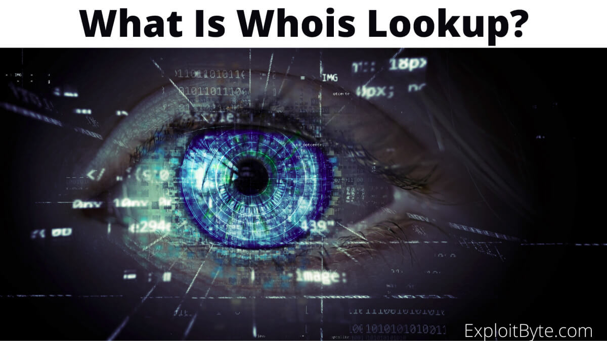 What is Who is Lookup?