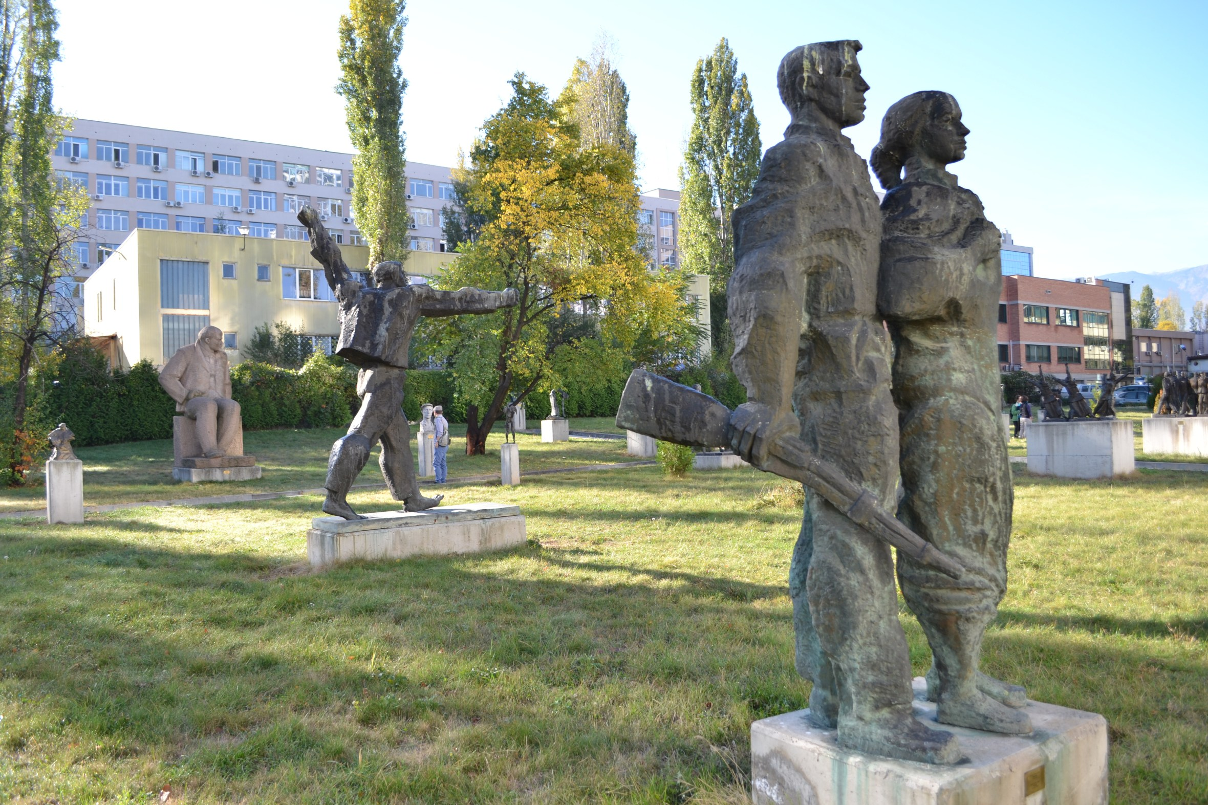 Marginalized Socialist art in the outskirts of Sofia