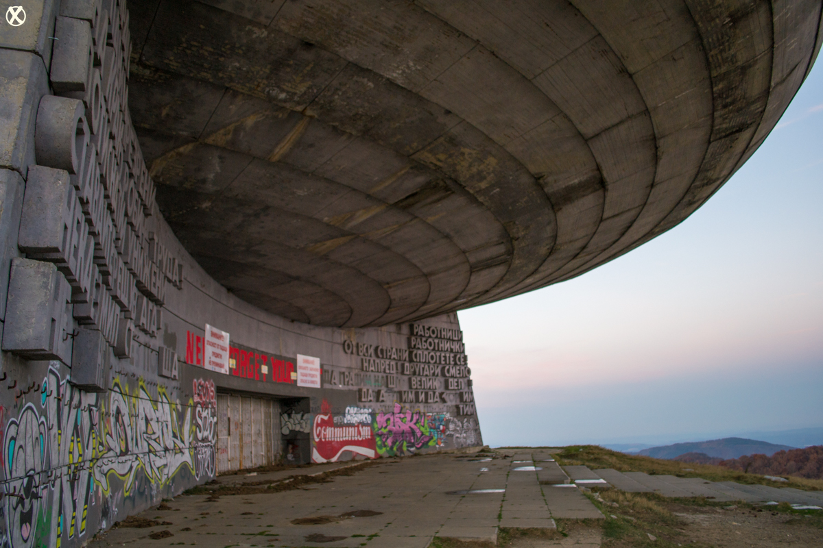 The worrisome signs of structural damage at Buzludzha