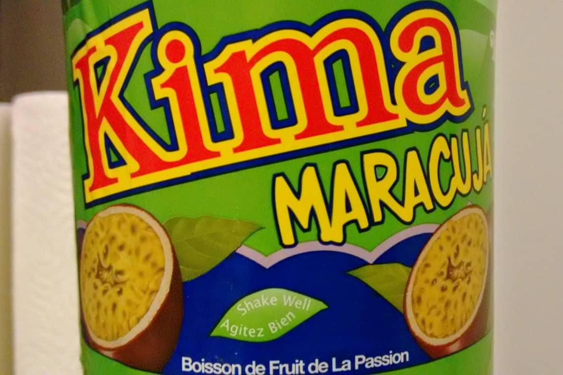 Kima de maracujá, bebida dos Açores