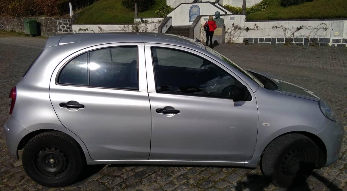 Alugar carro, Açores