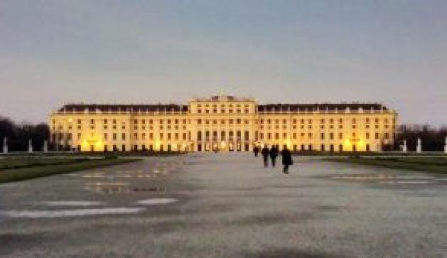 Viena Palácio de Schönbrunn jardins