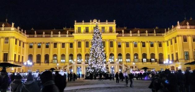 Viena Mercado de Natal Palácio de Schönbrunn