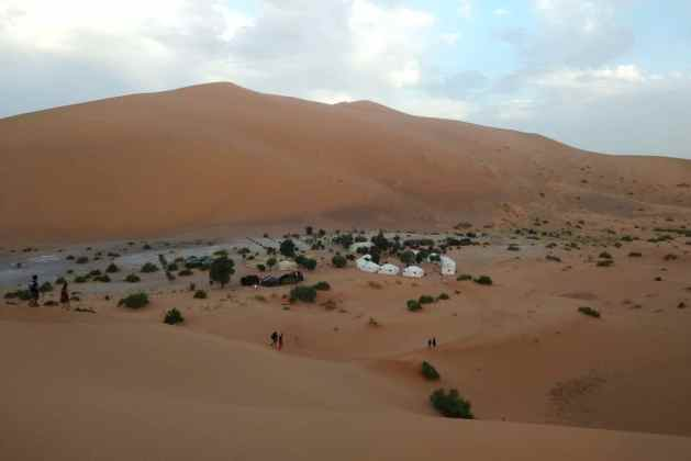 acampamento berbere Bivouac Café du Sud