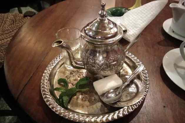 Chá de menta Marrocos