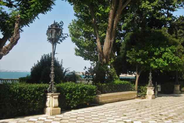 Jardim em Cádiz, Espanha