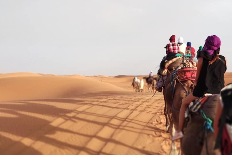 Dunas de Erg Chebbi, Marrocos
