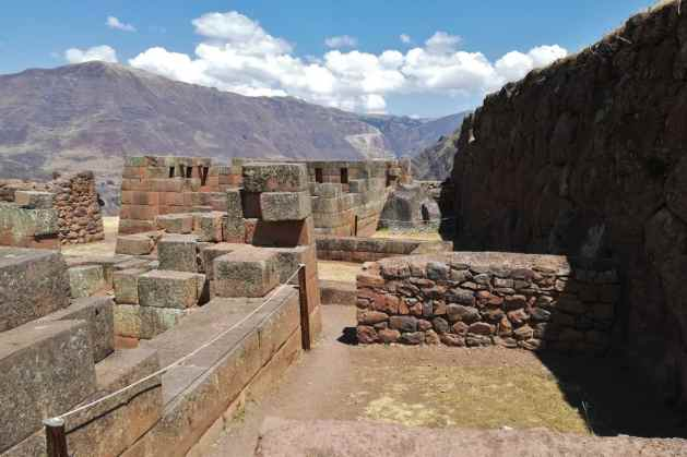 Ruínas incas de Pisac Peru