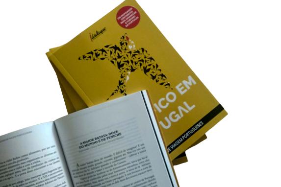 Livro #EuFicoEmPortugal - capa e texto