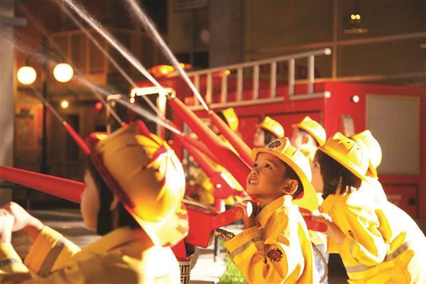 KidZania Kuala Lumpur - Firefighter