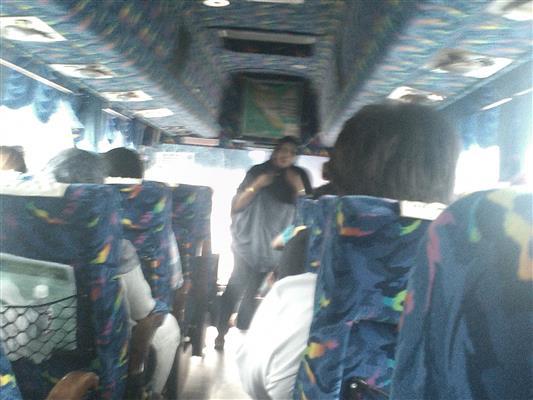 gambar dalam bas express