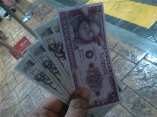 gambar duit kidzania