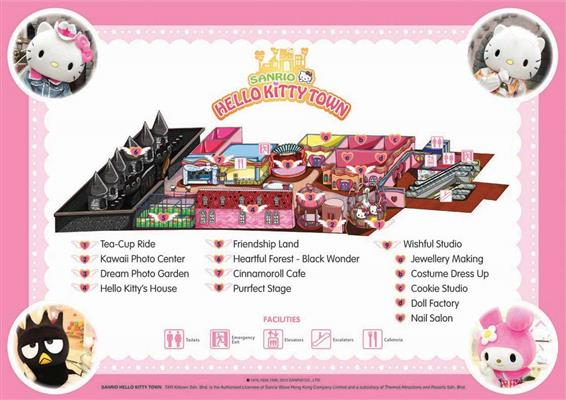 peta hello kitty town