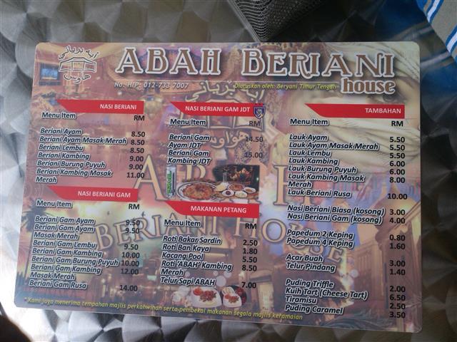 gambar buku menu