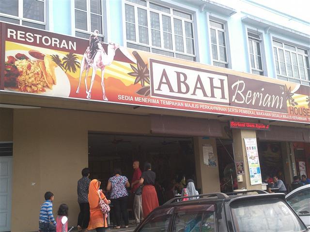 gambar kedai nasi beriani