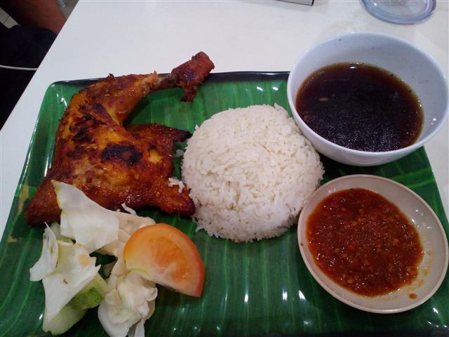 Manok (ayam) Panggang Dapur Sarawak