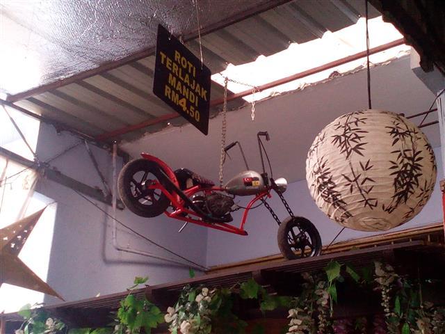 motosikal gantung