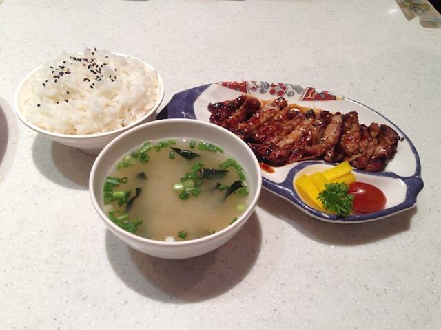 set teriyaki chicken