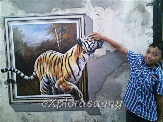 harimau 3D