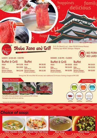 harga steamboat sazori shabu zone and grill