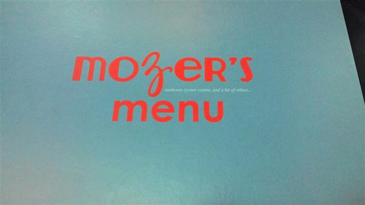 menu hidangan the mozer's