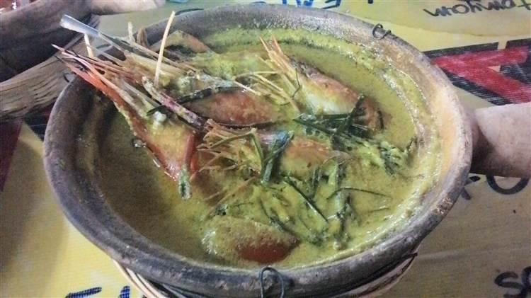 resipi udang galah masak lemak