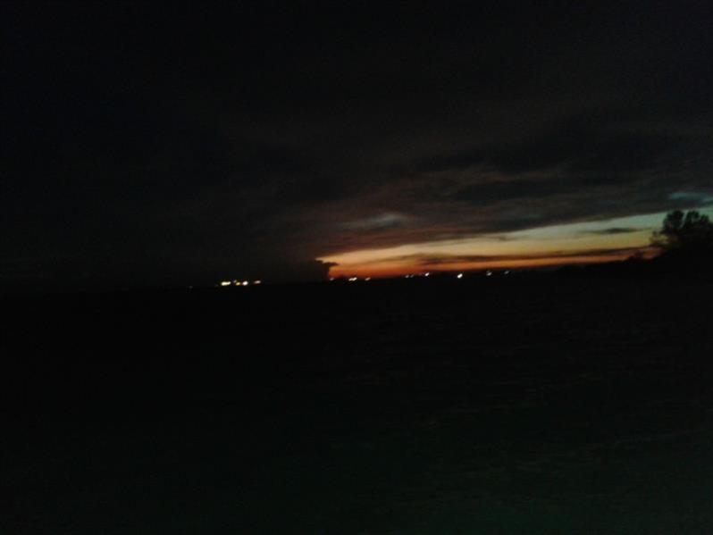 matahari terbenam 4