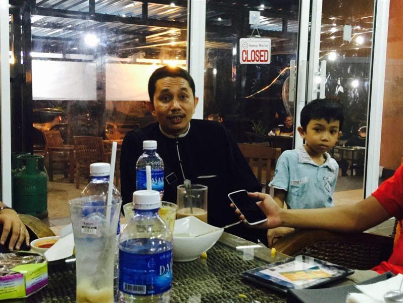 Salah seorng pemllik Restoran Papero, Tuan Sheik Ahmad Fakhruddin
