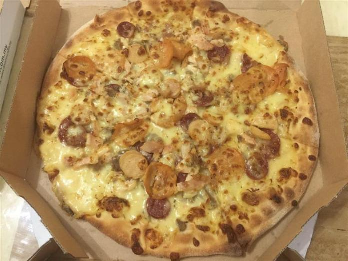 daging 7 perasa domino's pizza
