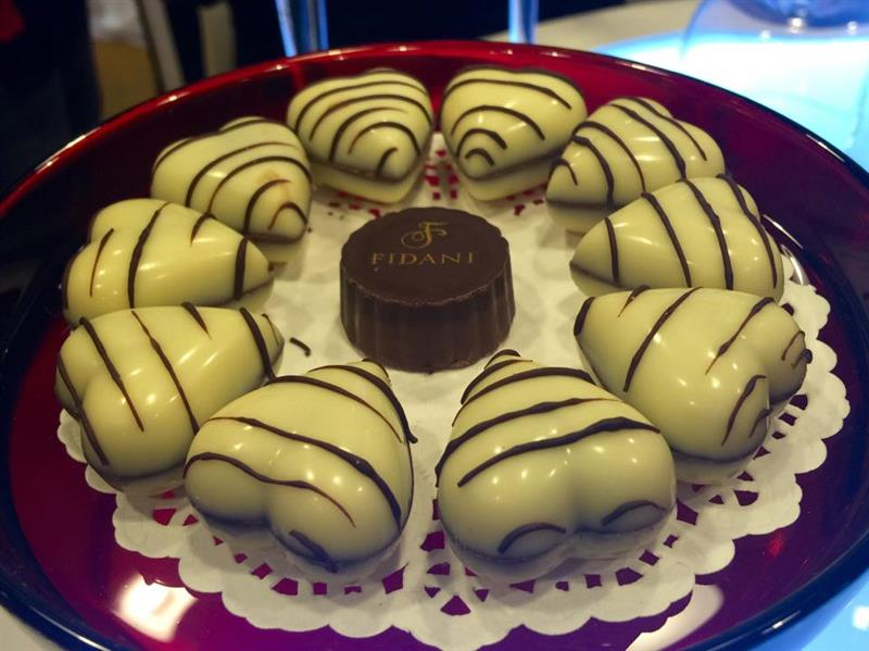 salah satu produk coklat keluaran syarikat tempatan FIDANI