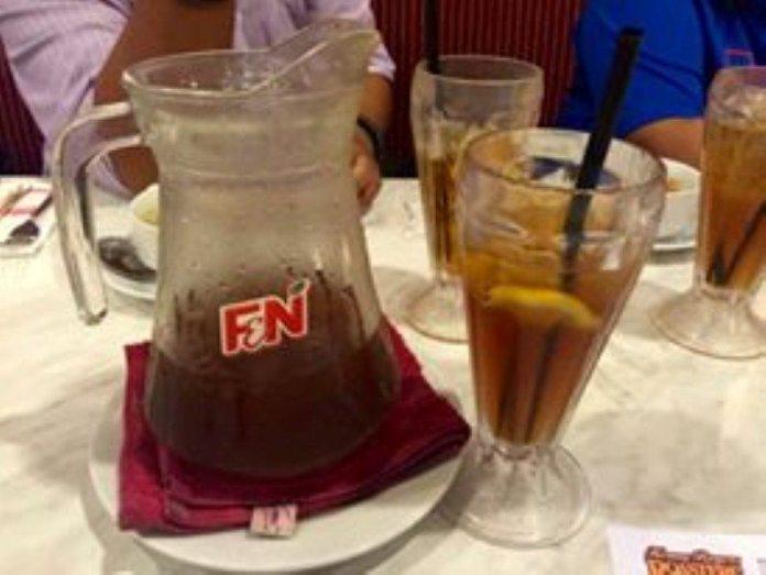 Iced Lemon Tea di KRR memang pior dan asli