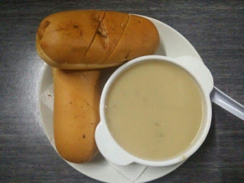 pekan-station-kampung-baru-mushroom soup