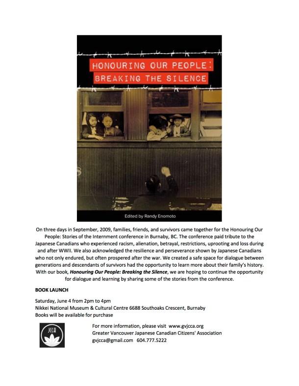 HOP Book Launch Invitation