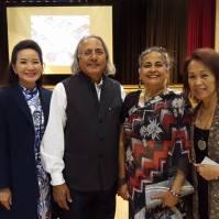 Directors Esaine Mo Verney and Bev Nann with Advisor Raminder Dosanjh and Ujjal Dosanjh