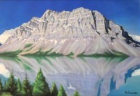 Mountains and Lake by Ken Suzuki
