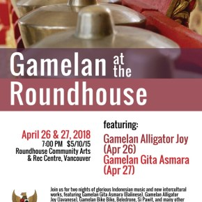 Triple Bill of Gamelan at the Roundhouse