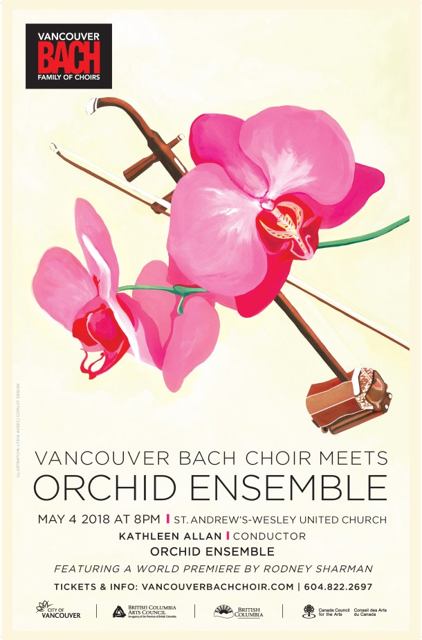Orchid Ensemble Poster
