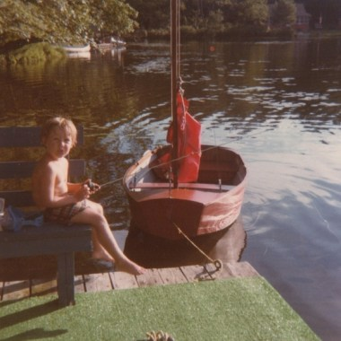 My brother John, c. 1980
