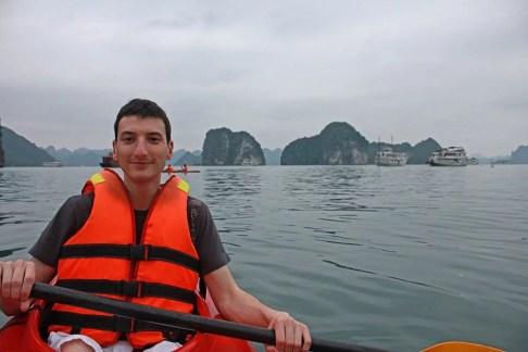 Kayaking the Halong Bay, Vietnam