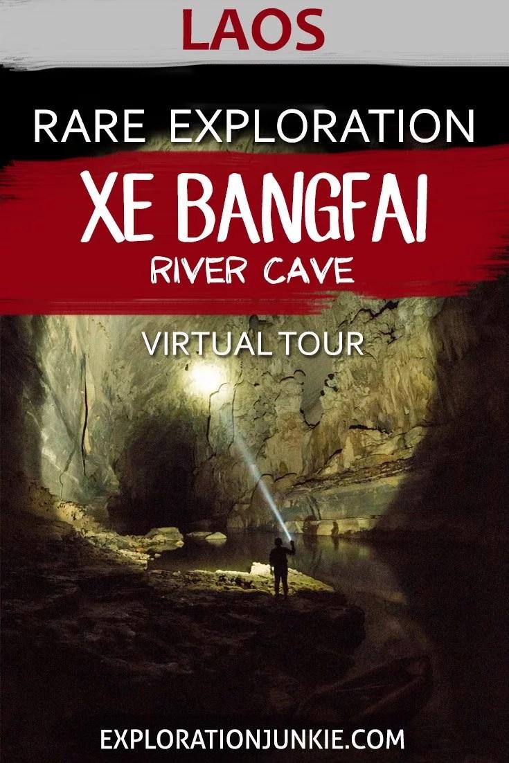 Xe Bangfai Cave Laos