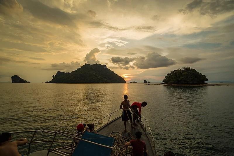 Chicken Island Sunset Krabi Thailand