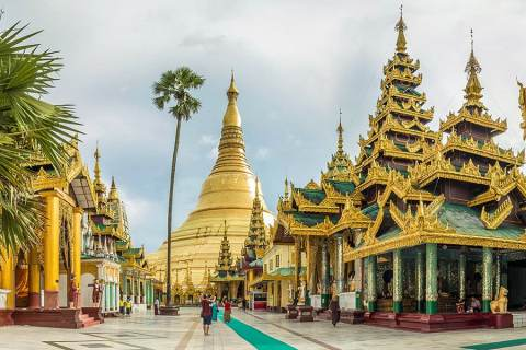 Shwedagon Pagoda: The Most Lavish Pagoda In The World, Yangon, Myanmar