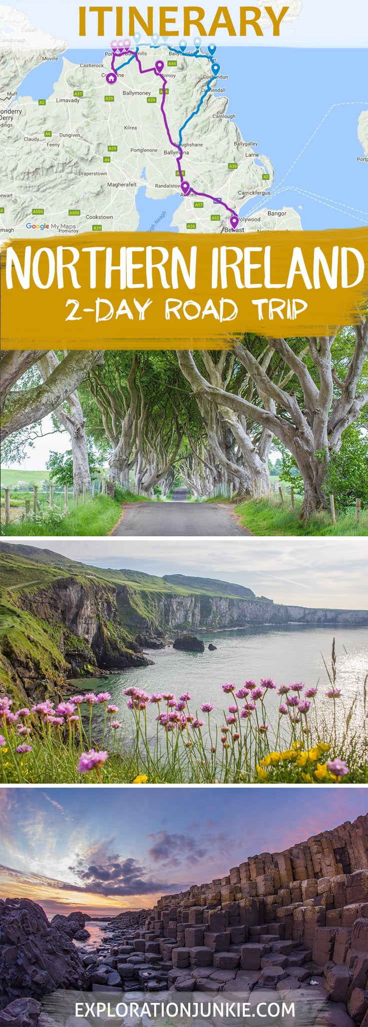 Northern Ireland Itinerary