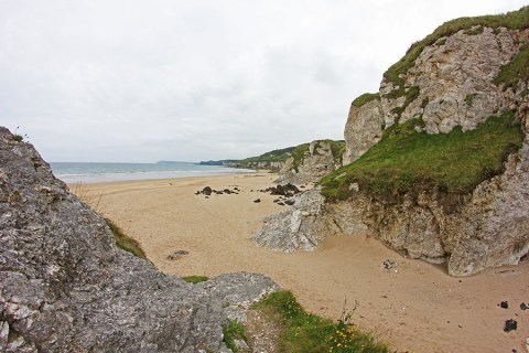 White Rocks Beach, Gorgeous Wild Shores of Northern Ireland