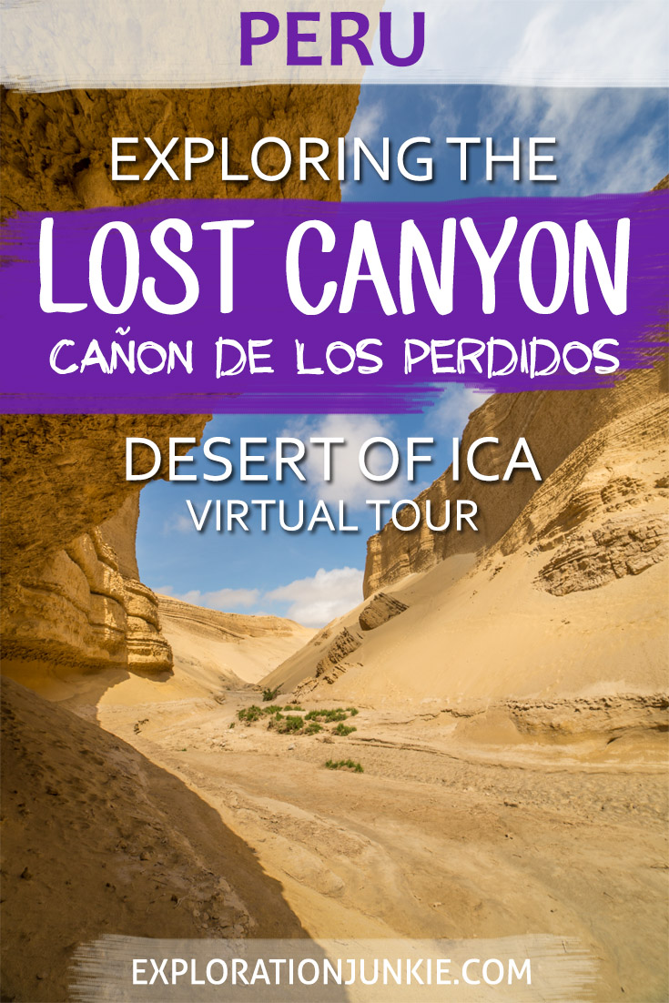 sechura desert lost canyon peru