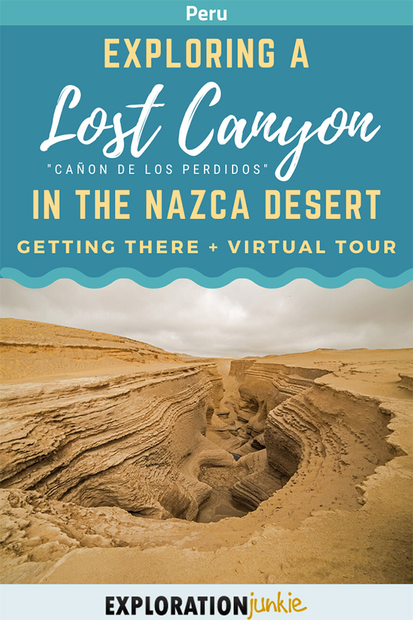 Lost Canyon Pinterest Image