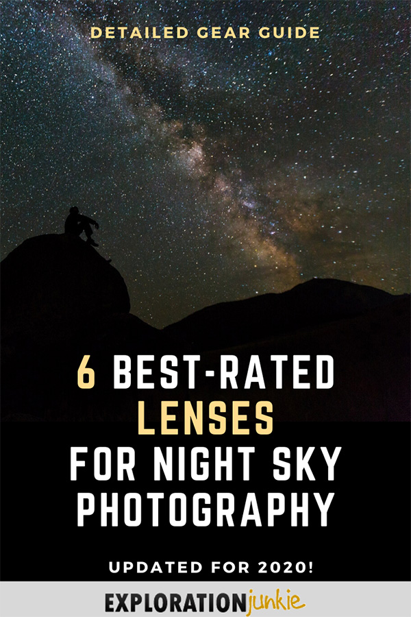 Lenses for Night Sky Photography Pinterest Image